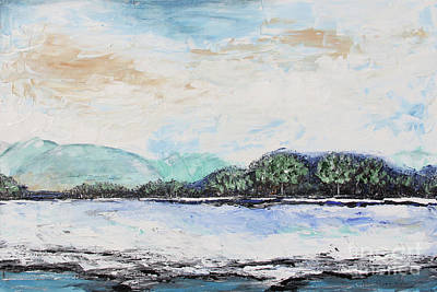 Painting - Serene Landscape by Jean Plout