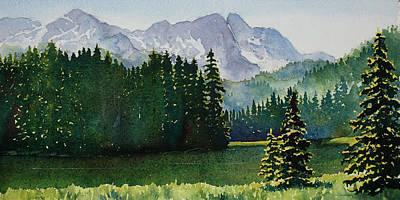 Painting - Serene by Mary Giacomini