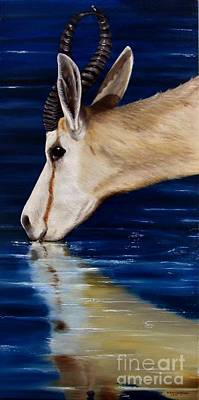 Painting - Serene by Nanda Hoep