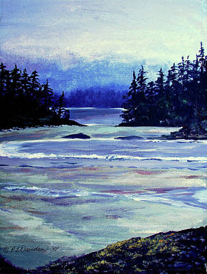 Painting - Serene Ocean View by Patricia L Davidson