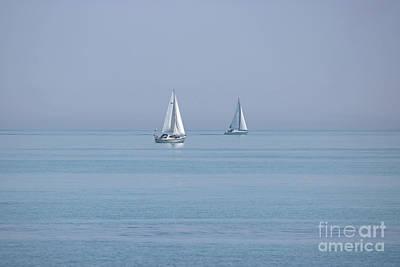 Photograph - Serene Sailing  by Julia Gavin