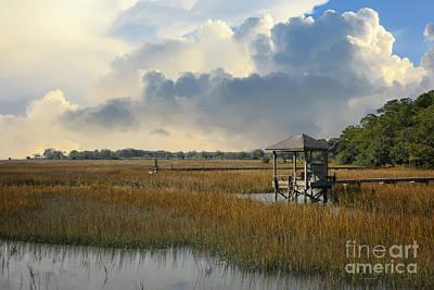 Photograph - Serene Salt Marsh by Dale Powell