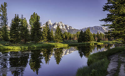 Photograph - Serene Schwabachers by Mary Angelini