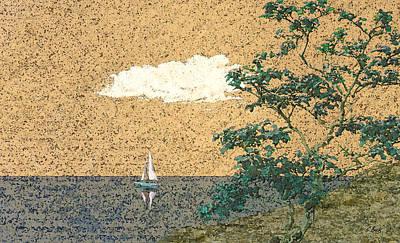 Serene Sea Art Print by Gordon Beck