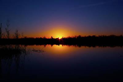 Beauty Mark Photograph - Serene Sunset by Mark Andrew Thomas