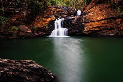 Photograph - Serene Waterfalls by Vishwanath Bhat