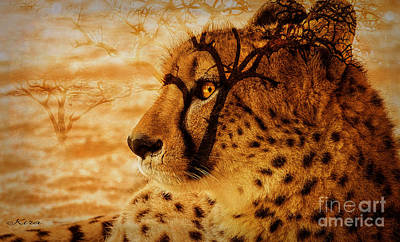 Photograph - Serengeti Dreams by Kira Bodensted