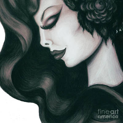 Drawing - Serenity 2 by Tara Shalton