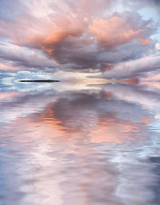 Serenity And Peace Art Print by Jerry McElroy