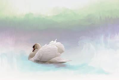 Serenity Art Print by Annie Snel