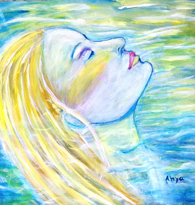 Painting - Serenity by Anya Heller