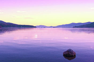 Photograph - Serenity At Lake George by Michelle McPhillips