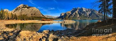 Photograph - Serenity At Minnewanka by Adam Jewell