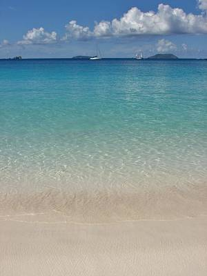 Serenity At Trunk Bay  Art Print