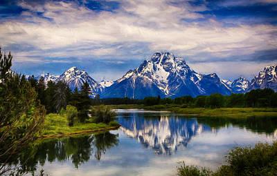 Teton Digital Art - Serenity by Claudia Daniels