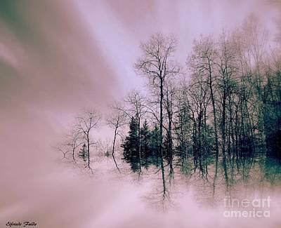 Mixed Media - Serenity by Elfriede Fulda