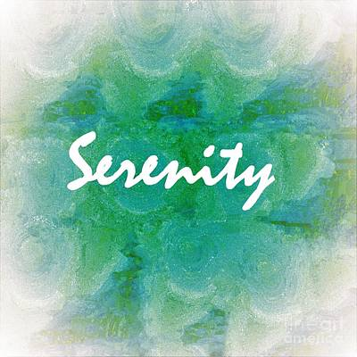 Life Painting - Serenity by Eloise Schneider