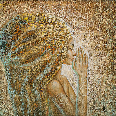 Fairy Painting - Serenity by Eurika Urbonaviciute