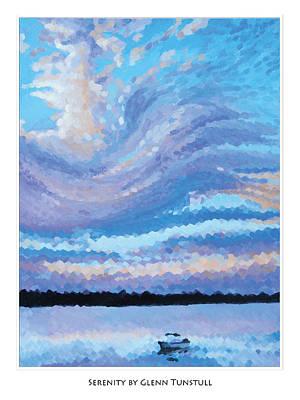 Painting - Serenity Poster by Glenn Tunstull