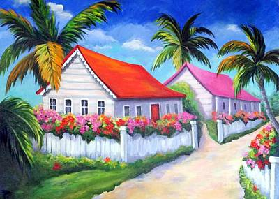 Painting - Serenity In Paradise by Rosie Sherman