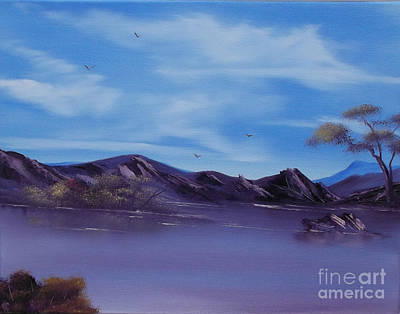 Painting - Serenity Lake by Cynthia Adams