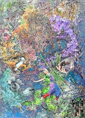 Reverie Mixed Media - Serenity by Megan Henrich