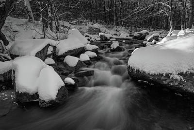 Photograph - Serenity Of Winter by Clifford Toy