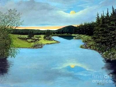 Painting - Serenity by Peggy Miller