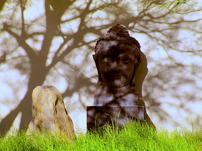 Lord Buddha Photograph - Serenity by Randall Weidner