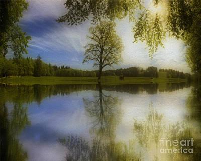 Photograph - Serenity Reflected by Edmund Nagele