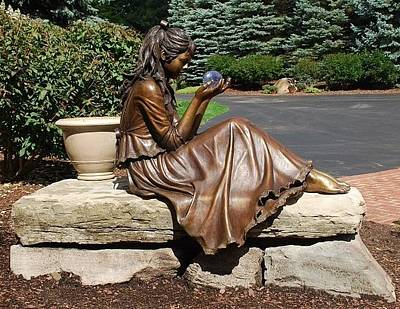 Sculpture - Serenity by Ruth Gee