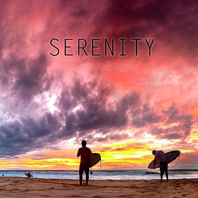 Photograph - Serenity. by Sean Davey