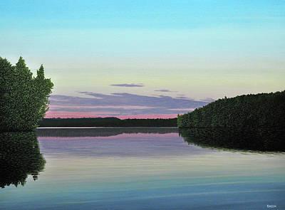 Serenity Skies Art Print