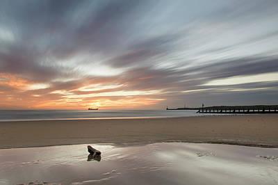Photograph - Serenity St Aberdeen Beach by Veli Bariskan