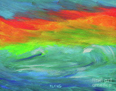 Painting - Serenity Sunrise  by Robyn King
