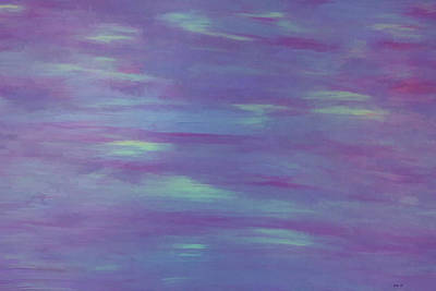 Photograph - Serenity Acrylic Abstract by Roberta Byram