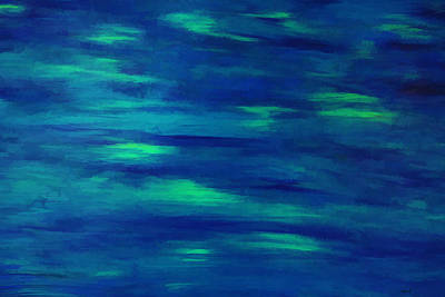 Photograph - Serenity Two Abstract Acrylic by Roberta Byram