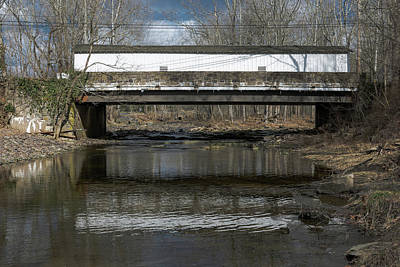 Photograph - Sergeantsville Bridge by Steven Richman