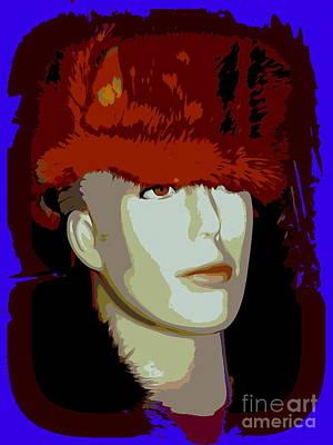 Digital Art - Sergei In Sable by Ed Weidman