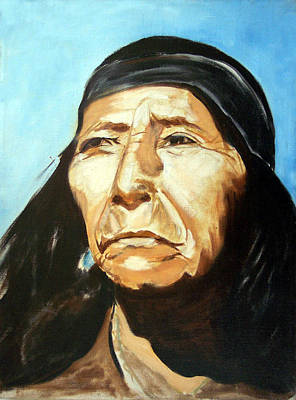 Painting - Seri Indian Portrait by Evelyne Boynton Grierson