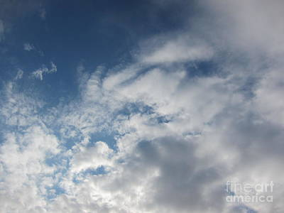 Urban Abstracts Royalty Free Images - Series of Clouds 61 Royalty-Free Image by Funmi Adeshina