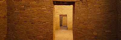 Anasazi Photograph - Series Of Doors In An Ancient Building by Panoramic Images