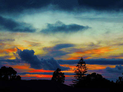 Photograph - Serious Sunset by Mark Blauhoefer