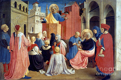 Sermon Of St Peter Art Print by Granger