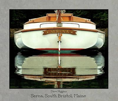 Serna, South Bristol, Maine  Art Print by Dave Higgins