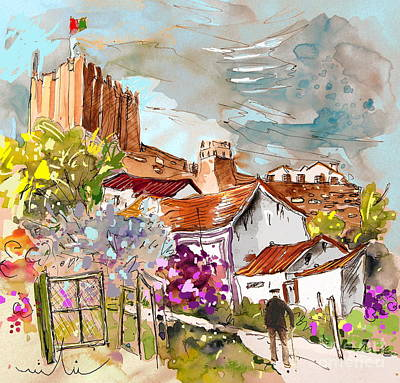 Serpa  Portugal 26 Art Print by Miki De Goodaboom