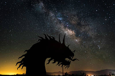 Photograph - Serpent And Milky Way by Scott Cunningham