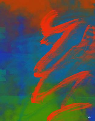 Serpentina Harmonica Art Print