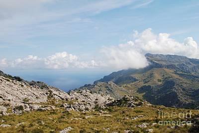 Photograph - Serra De Tramuntana Mountains In Majorca by David Fowler