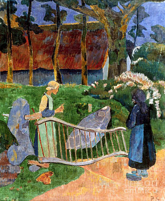 Serusier: Barriere, 1889 Art Print by Granger